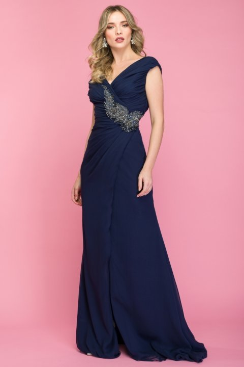 Rochie-de-seara-lunga-albastra-styleup