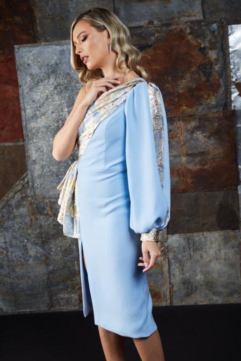 Rochie-ocazie-inchiriat-midi-bleu-styleup